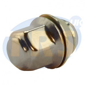 "3/8"" UNF, 17mm Hex OE Style Tapered Nut"