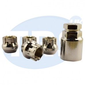 M12 x 1.5, Tapered Open Locking Nuts