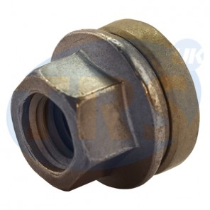 M14 x 1.5, 21mm Hex Flat Seated Transit Custom Nut