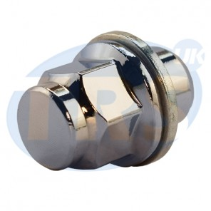 M12 x 1.5, 21mm Hex Flat Seated Toyota Nut